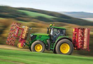 John Deere 6195M Row Crop Tractors