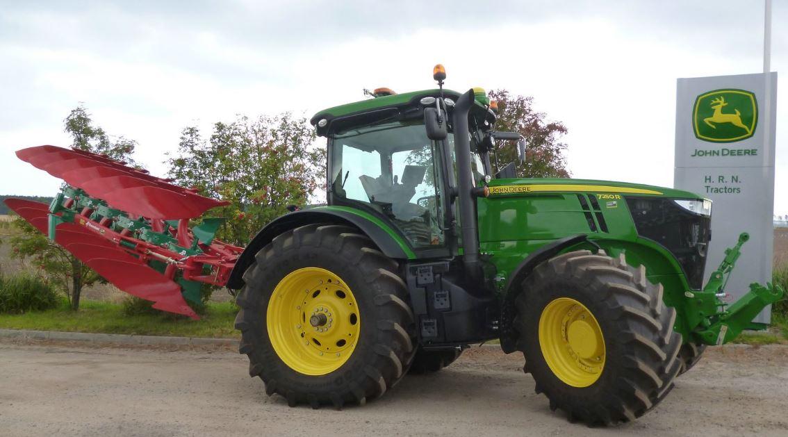 John Deere 7250R Row Crop Tractors