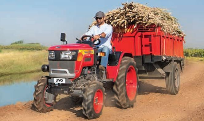 MAHINDRA JIVO 245 DI 4WD Mini Tractor Trolley