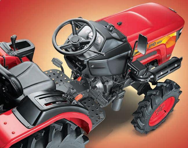 MAHINDRA JIVO 245 DI 4WD Mini Tractor design