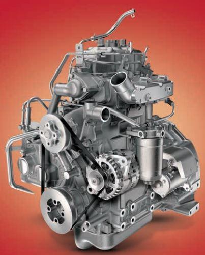 MAHINDRA JIVO 245 DI 4WD Mini Tractor engine