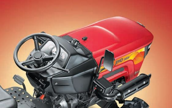 MAHINDRA JIVO 245 DI 4WD Mini Tractor fuel tank capacity