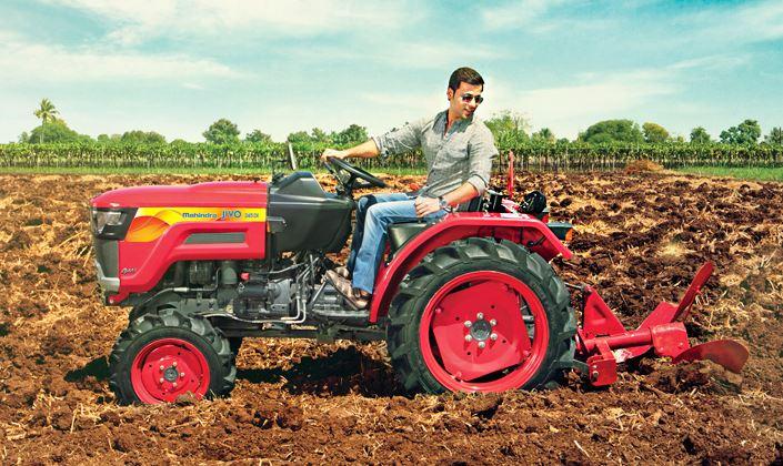 MAHINDRA JIVO 245 DI 4WD Mini Tractor price