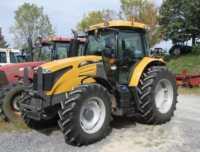 Challenger MT455D Utility Tractor