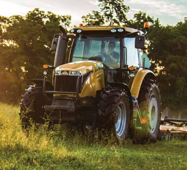 Challenger MT475E Utility Tractor