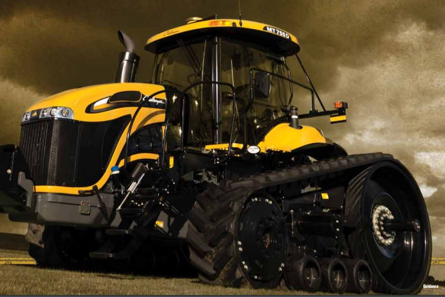 Challenger MT575D Track Tractors Img