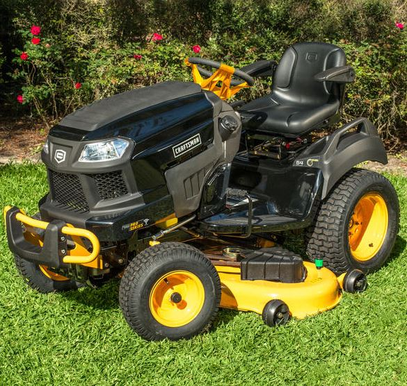 craftsman pro series 54inch 26 hp vtwin kohler garden tractor