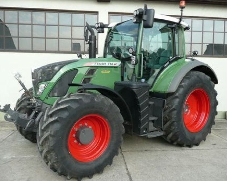 Fendt 714 Vario Tractor