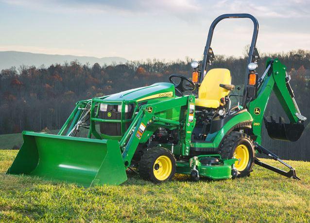 John Deere R Sub Compact Utility Tractor