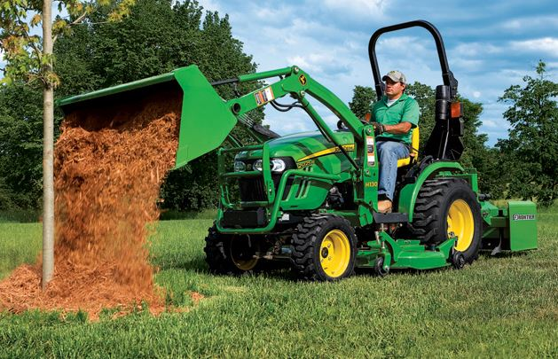 John Deere 2025R Compact Utility Tractor price