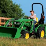 John Deere 2 Family 2025R and 2032R Compact Utility Tractors Info