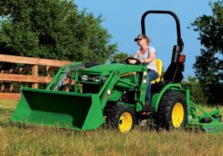 John Deere 2032R Compact Utility Tractor price