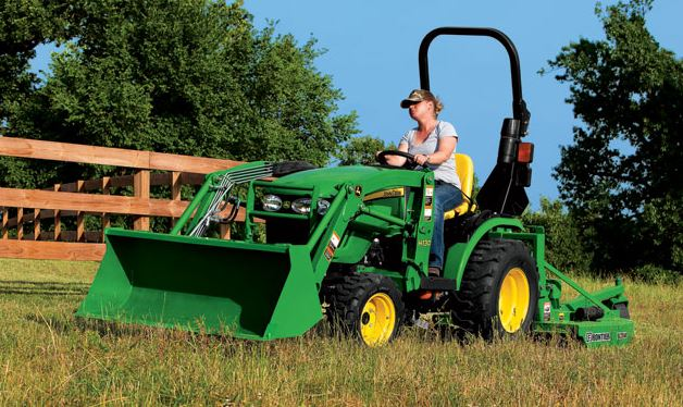 John Deere R Compact Utility Tractor Price