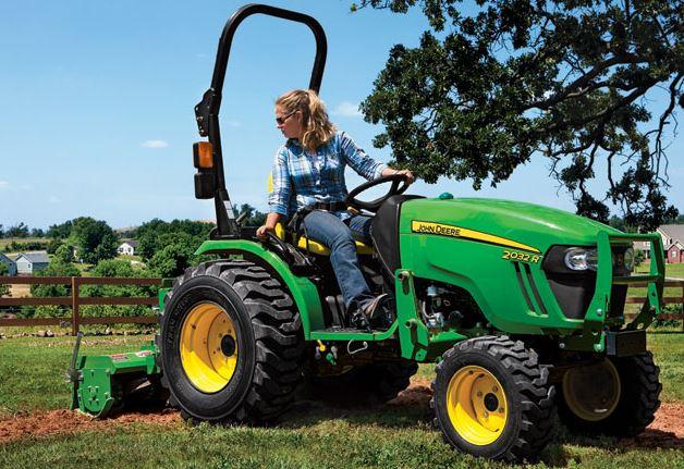 John Deere 2032R Compact Utility Tractor specs