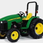 John Deere 4105 40-hp Compact Utility Tractor Price Specs Features