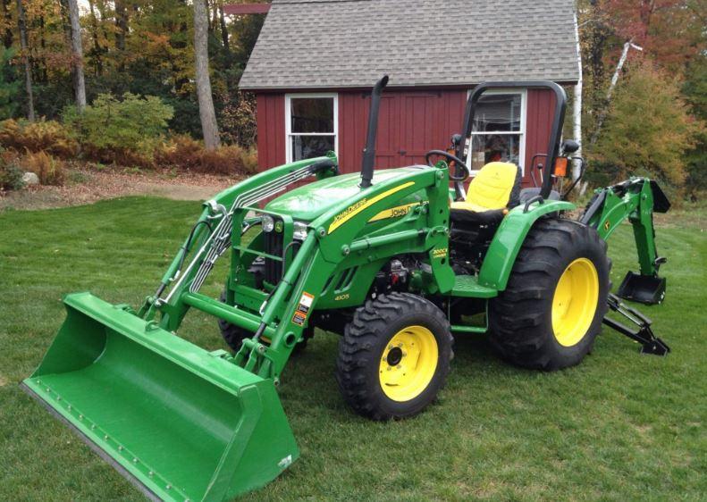 John Deere 4105 Compact Utility Tractor features