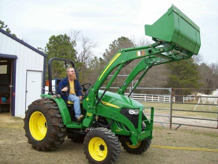 John Deere 4105 Compact Utility Tractor price
