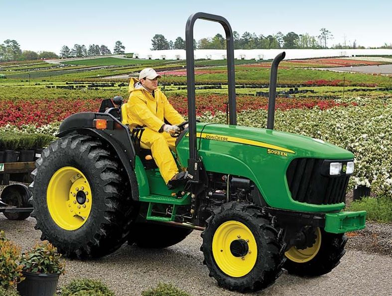 John Deere 5093EN Narrow Speciality Tractor