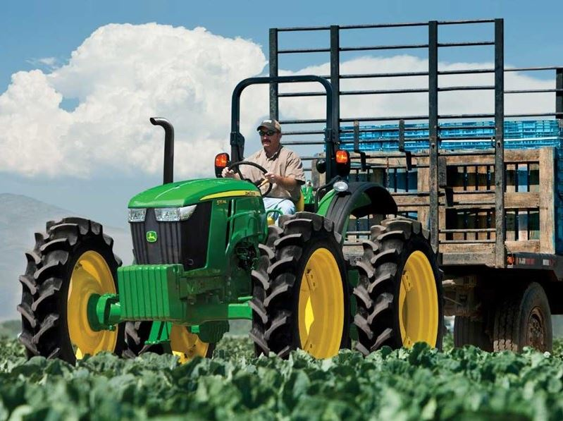 John Deere 100 Series >> John Deere High Crop 5MH and 6RH Tractors Price Specifications