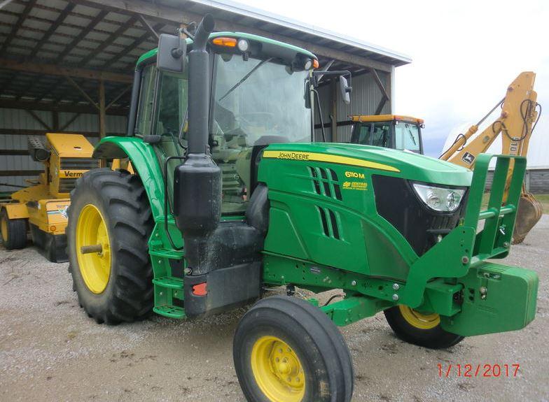 John Deere 6110M Low Profile Tractors