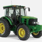 John Deere 6D Series Tractors 105–140 Engine Horsepower Utility Tractors
