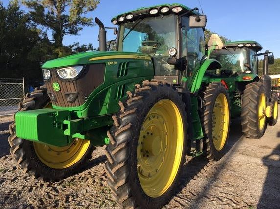 John Deere 6155RH High Crop Tractor