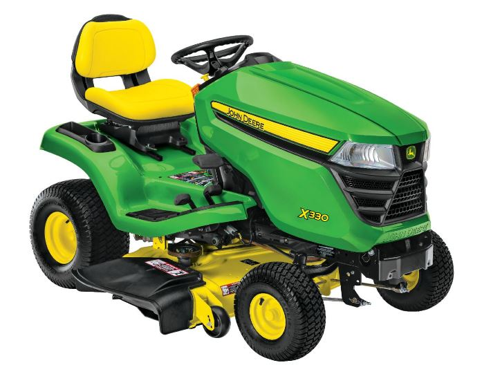 John Deere X330 Tractor with 42-inch Deck Lawn Tractor