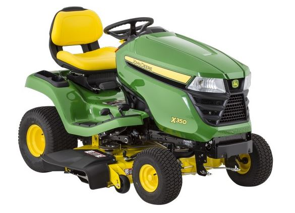 John Deere X350 Tractor with 48-inch Deck Lawn Tractor