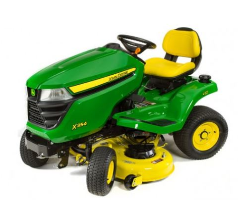 John Deere X354 Tractor with 42-in. Deck Lawn Tractor