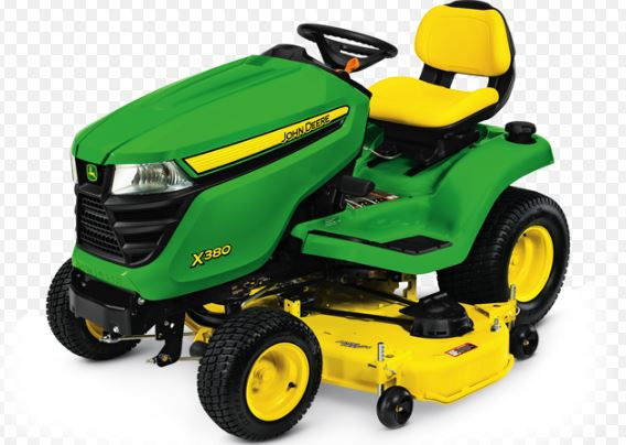 John Deere X380 Tractor with 54-in. Deck Lawn Tractor