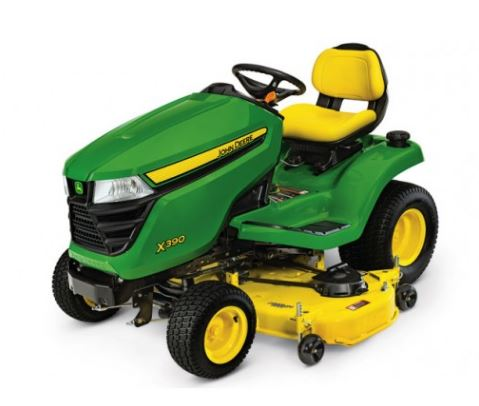 John Deere X390 with 54-in. Deck Lawn Tractor