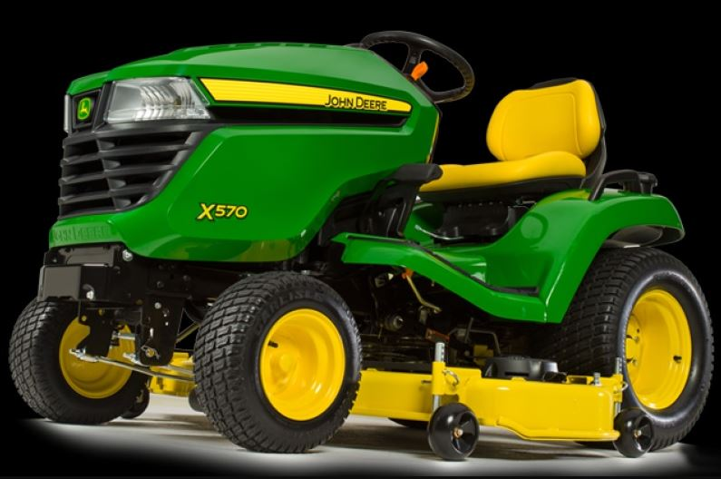 John Deere X570 with 48-in. Deck Lawn Tractor