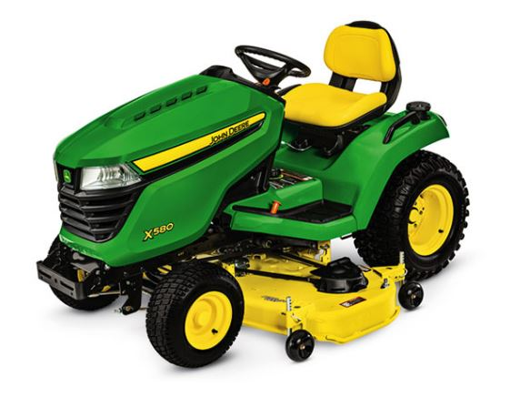 John Deere X580 with 54-in. Deck Lawn Tractor