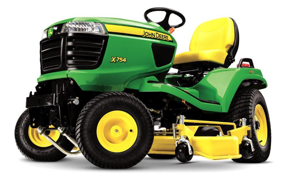 John Deere X754 Lawn Tractor