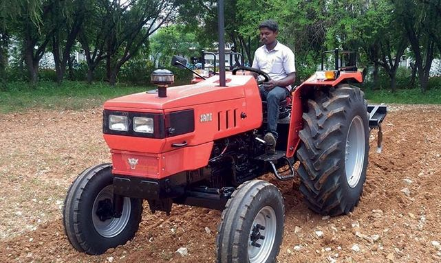 Same 55 Tractor
