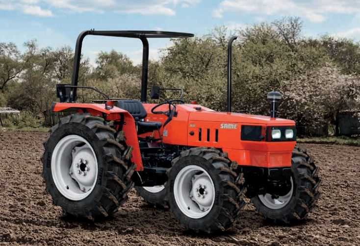 Same 60 Tractor