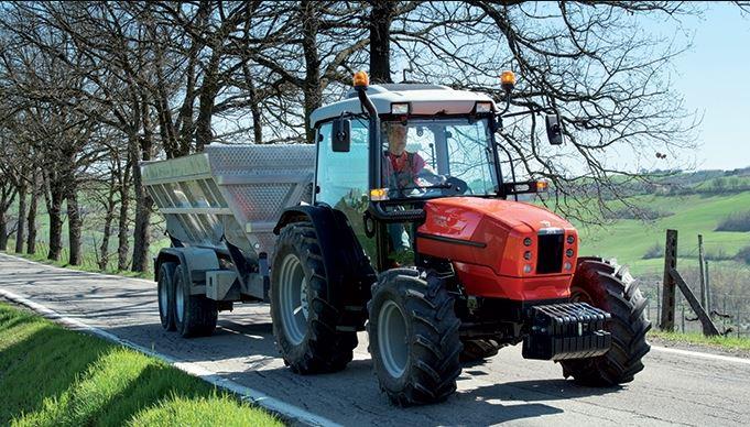 Same Dorado 85 Tractor