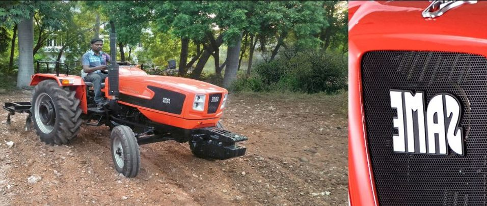 Same Tiger 40E Compact Tractor