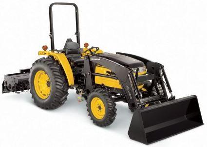 Yanmar EX450 Open Platform Tractor with ROPS