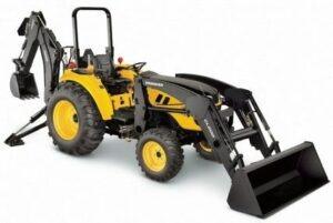 Yanmar LX450 Open Platform Tractor with ROPS