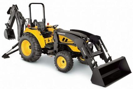 Yanmar LX450 Open Platform Tractor with ROPS