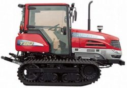 Yanmar T80 (Standard)Rubber Track Tractor With Enclosed Cab Wit heat And AC