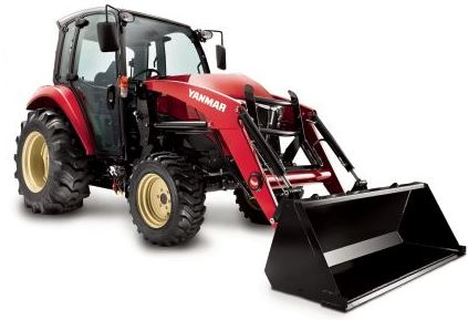 Yanmar YT359C With Enclosed CAB With Heat and AC Tractor