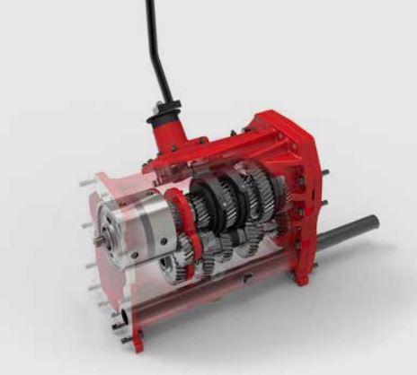 Zetor Crystal 160 Tractor gearbox