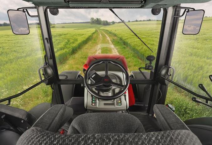 Zetor Crystal tractor cab
