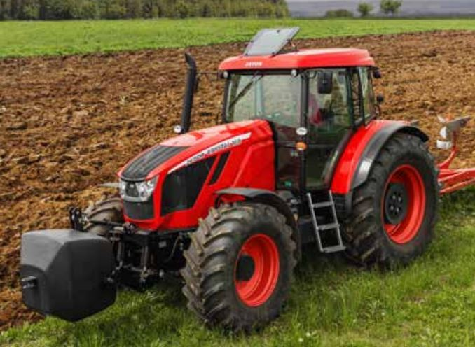 Zetor Crystal tractor hydraulics