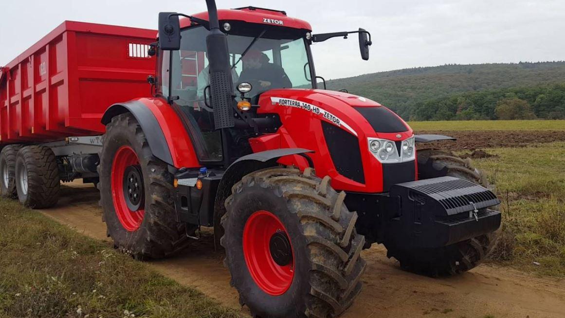 Zetor Forterra 140 HD Tractors