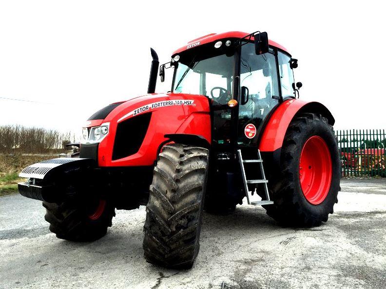 Zetor Forterra 140 HSX Tractor