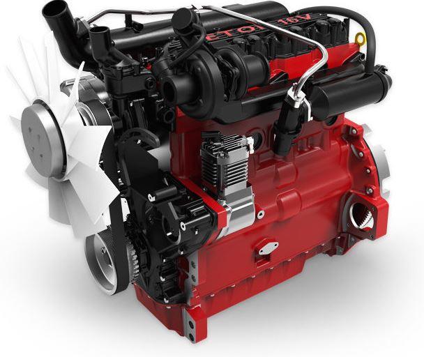 Zetor Forterra Tractor engine