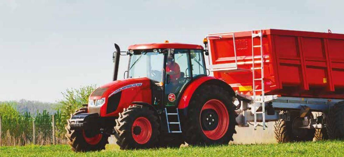Zetor Forterra Tractor transmission